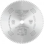 CMT Industrial LOW Noise & Chrome Coated 10'' Saw Blade ATB Grind .