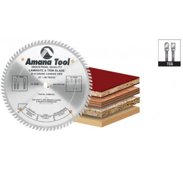 Amana Carbide Tipped Cut-Off and Crosscut 12 Inch Dia x 72T TCG, 10 Deg, 30mm Bore