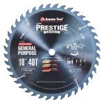 AmanaCarbide Tipped Prestige 10 Inch Dia 40T ATB, 18 Deg, 5/8 Bore